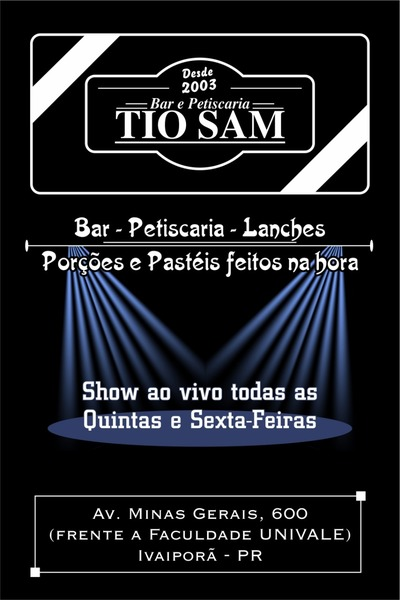 Casa de Shows Musica ao Vivo Tio Sam - Bar e Petiscaria Ivaiporã