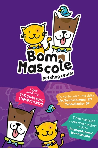 Bom Mascote Pet Shop Center Capão Bonito