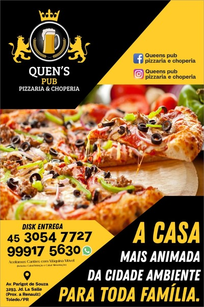 Queens Pub Pizzaria & Choperia Toledo
