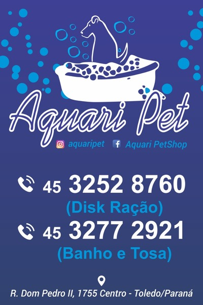 Aquari Pet - Pet Shop Toledo