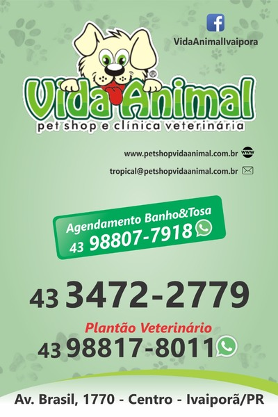 VIDA ANIMAL - PET SHOP E CLÍNICA VETERINÁRIA IVAIPORÃ