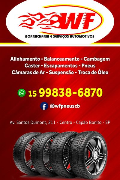 WF Auto Center e Borracharia